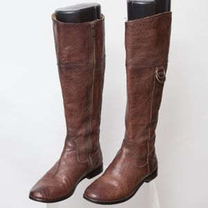 Frye Anna D Ring Boots Size 6